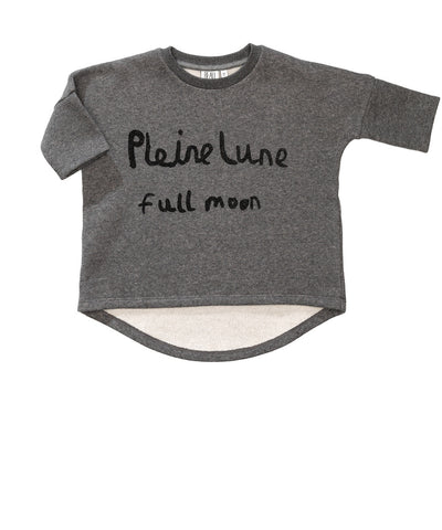 Oversized top Pleine Lune by Beau LOves - Silver fleck