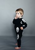 Beau LOves - Raglan romper Ghosts - lifestyle