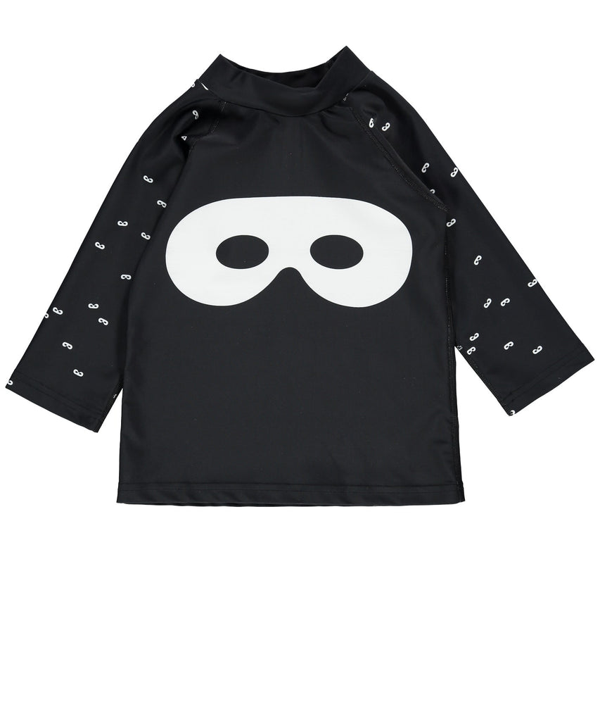 Beau LOves - Swim top black Hero Mask - black