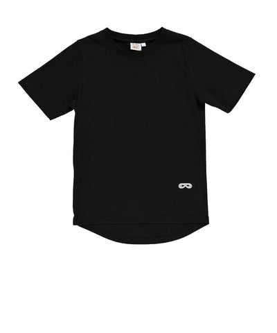 Fin tee We Love You by Beau LOves - black