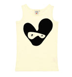 Beau LOves - vest Bandit Loveheart - Pale Lemon