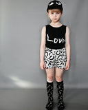 Beau Loves - short shorts Modern Leopard - grey - lifestyle