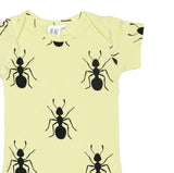Beau Loves SS15: Short Sleeve Body Pistachio Ants - detail