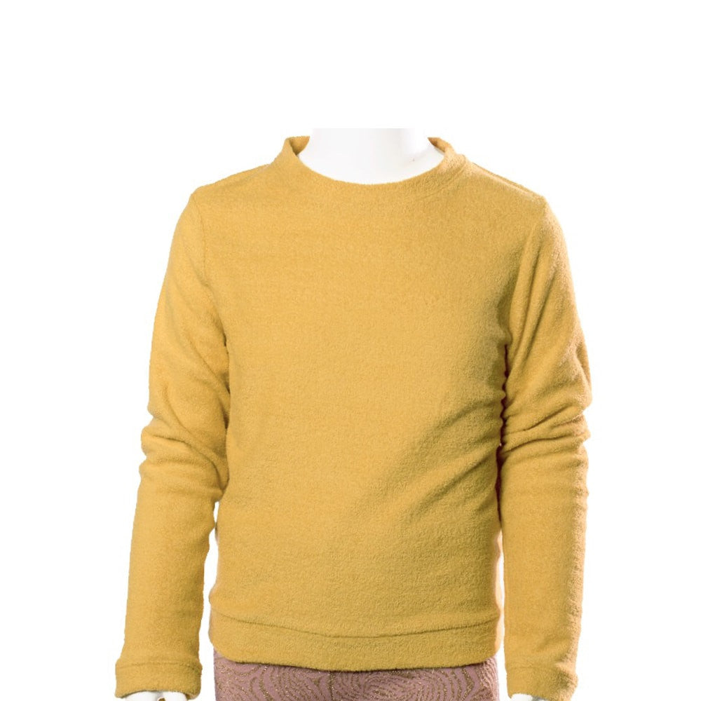 Come Noon - Sweatshirt Billie - dark yellow-min
