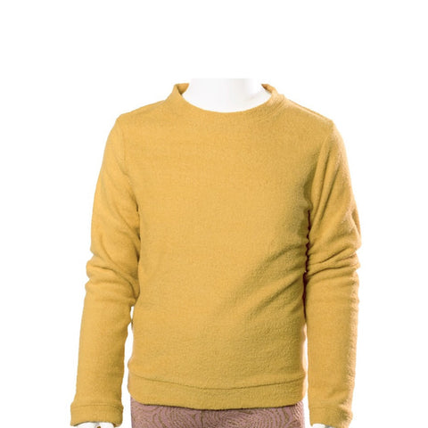 Sweatshirt Billie by Come Noon - dark yellow