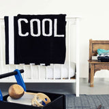 Lucky No 7 - Cool baby knit blanket - lifestyle 2