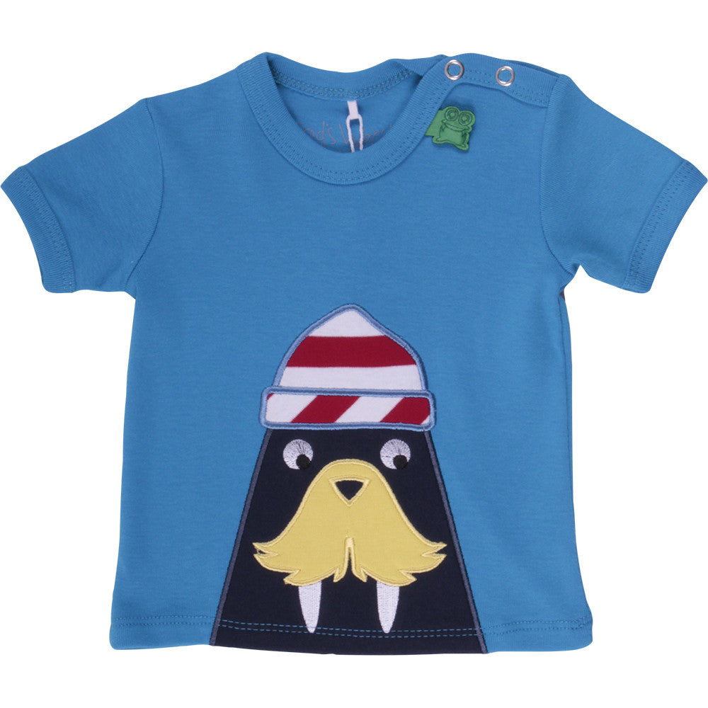 Green Cotton: Sailor tee - Organic baby clothes