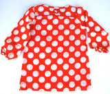 KIK-KID: Baby dress with polka dots - back