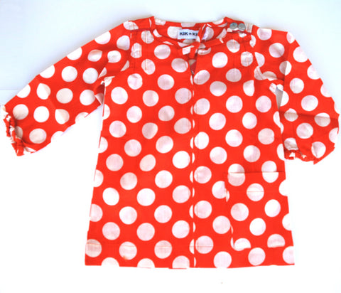 Polka dot dress by KIK-KID
