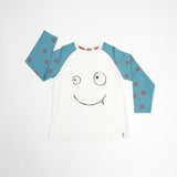 Indikidual - Face raglan top Lowen