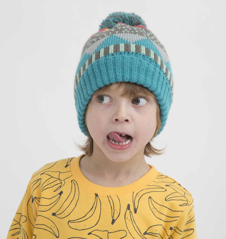 Pattern knitted hat Cecil by Indikidual