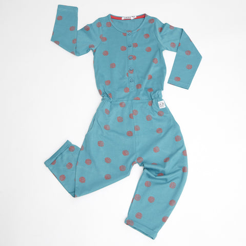 Scratchy spot jumpsuit by Indikidual