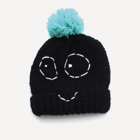 Winter hat Boris by Indikidual, black