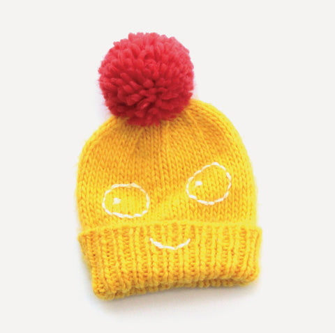 Winter hat Boris by Indikidual, yellow