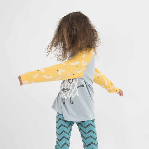 Zig zag leggings Corey by Indikidual
