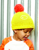 Indikidual - Winter hat Boris yellow