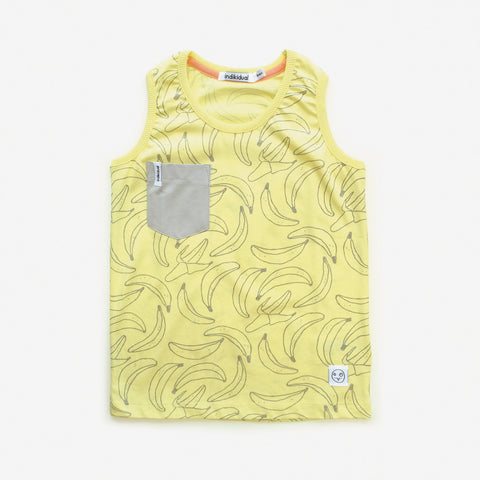 Kids Banana vest by Indikidual