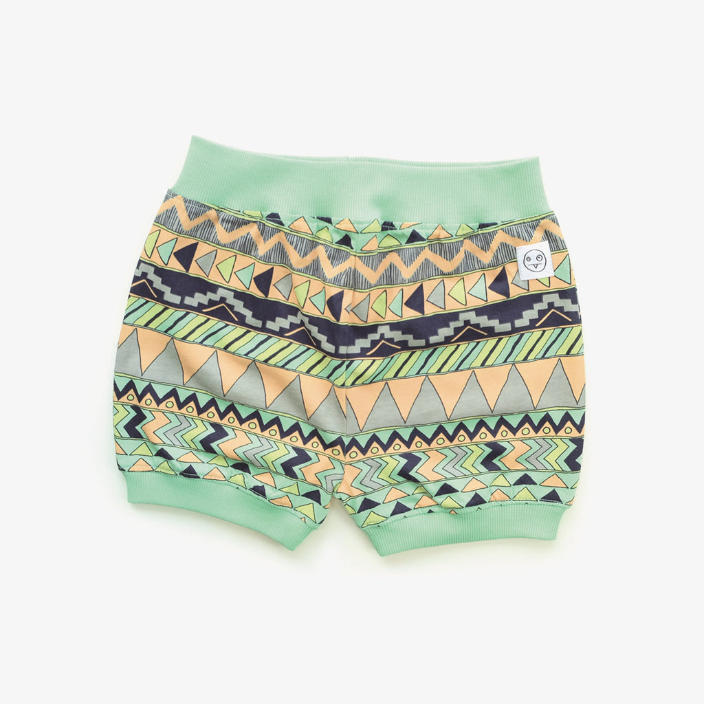 Indikidual - multi pattern puff short