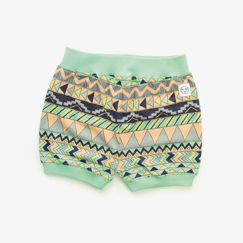 Multi pattern puff short Buddy by Indikidual