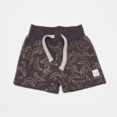 Banana shorts Ayu by Indikidual - black, gold