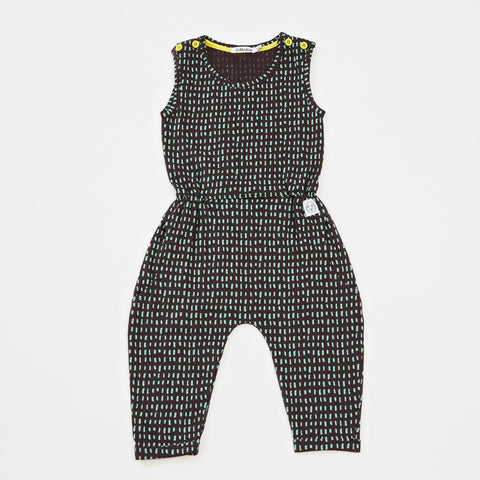Rice jumpsuit Isaki by Indikidual - black