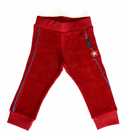 Terry pants by KIK-KID - Red