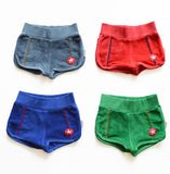 KIK-KID SS15: baby terry shorts - color variants