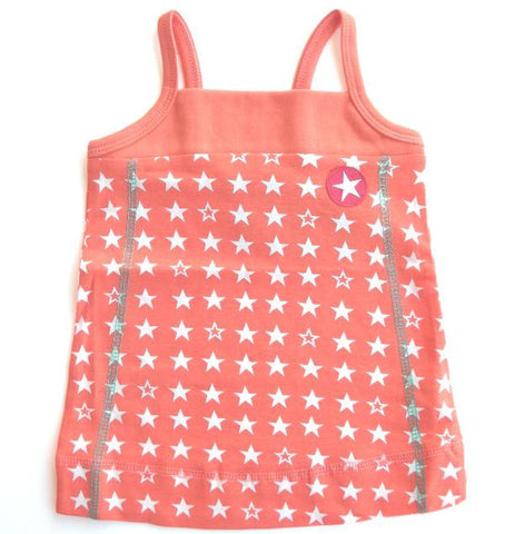 Star dress by KIK-KID, orange
