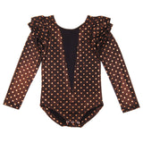 Knast by Krutter: Dotted gymsuit Wingsleeve tee
