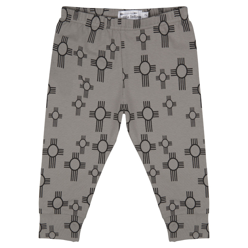 Little Indians - Baby pants Sun - Charcoal