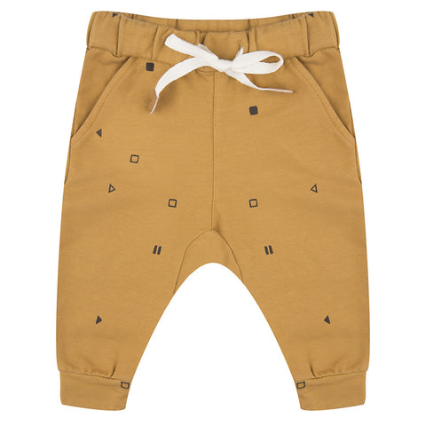 Pants Play-Stop-Pause by Little Indians - ochre