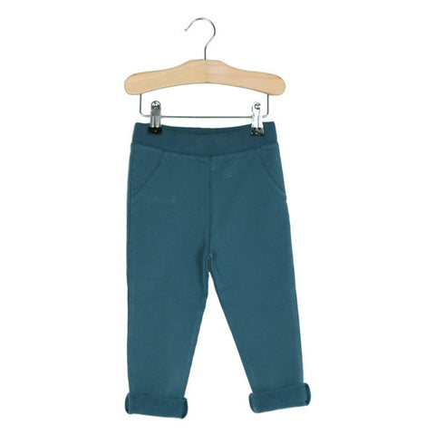 Semi baggy pants by Lötiekids - petrol blue