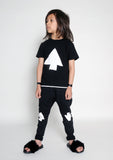 Loud Apparel - Boys T-shirt Madock black - lifestyle