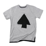 Loud Apparel - Boys T-shirt Madock grey marl