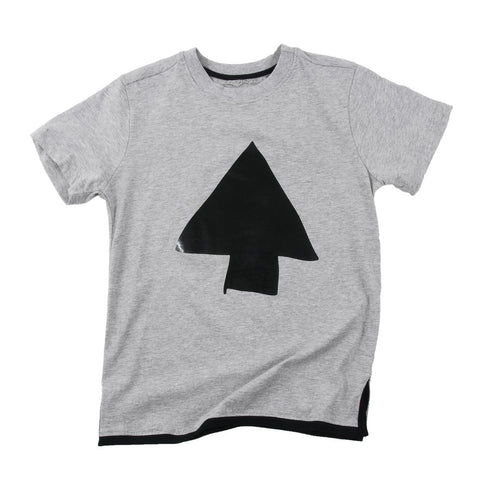 Boys T-shirt Madock grey marl by Loud Apparel