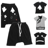 Loud Apparel - Boys shorts Manu black - combo