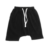 Loud Apparel - Boys shorts Manu black - front