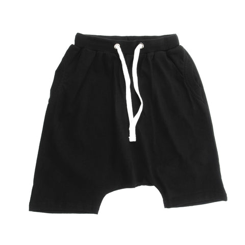 Boys shorts Manu black by Loud Apparel