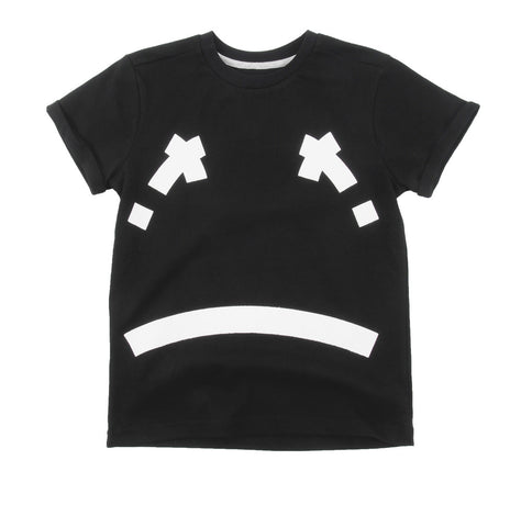 T-shirt Maemi by Loud Apparel - black