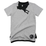 Loud Apparel - Unisex t-shirt Makai grey marl - back