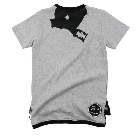 Unisex t-shirt Makai by Loud Apparel - grey marl