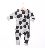 Lucky No 7 - Baby jumpsuit Dot - back