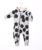 Lucky No 7 - Baby jumpsuit Dot