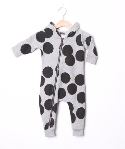 Baby jumpsuit Dot by Lucky No 7