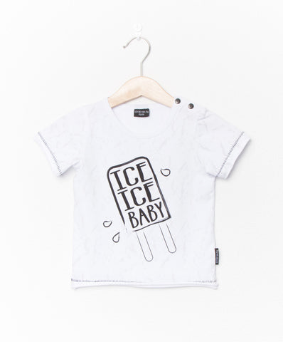 Ice Ice Baby tee by Lucky No 7