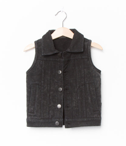 Gilet marble jogdenim by Lucky No 7