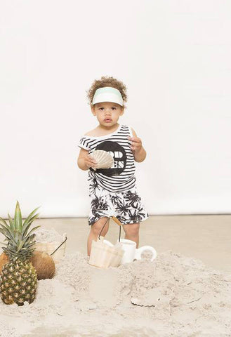 Baby/toddler shorts Palm by Lucky No. 7