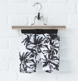 Lucky No 7: Organic Palm shorts