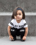 Lucky No 7 - Play Hard leggings and t-shirt