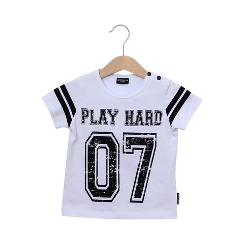 Shortsleeve tee Play Hard by Lucky No 7